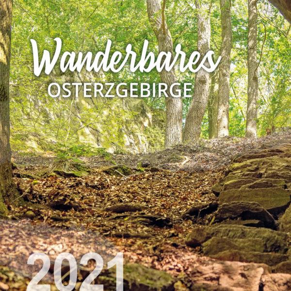 Kalender Osterzgebirge 2021, Heimatkalender, regionaler Kalender, Osterzgebirge, Werbung Osterzgebirge